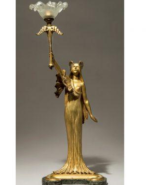 agathon leonard bronze sculpture